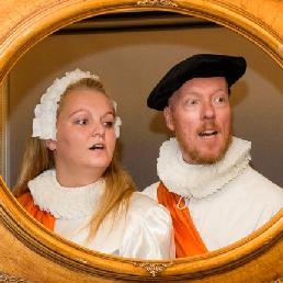 Cabaret Leeuwarden  (NL) Willem en Anna
