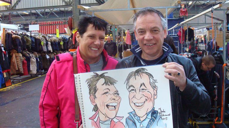 Sneltekenaar - karikaturist Ineke Ligtermoet