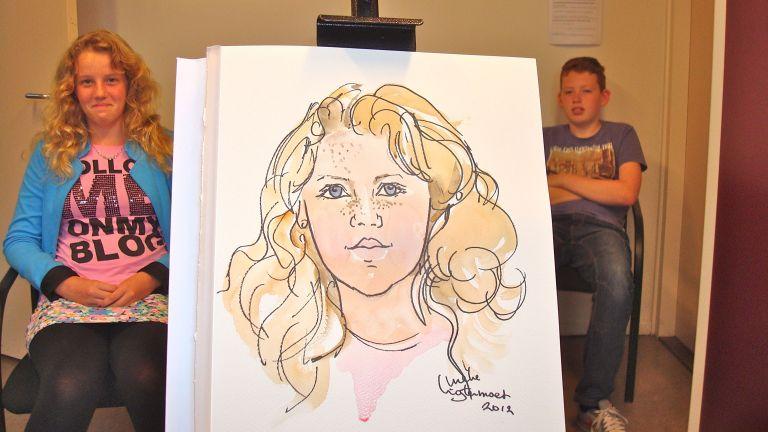 Realistic portraits in schools