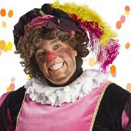 Clown Veldhoven  (NL) Sinterklaasshow Clown Piet