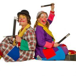 Children's show Clown Boebie & Babsie