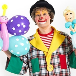 Clown Veldhoven  (NL) Ballonnenclown Boebie