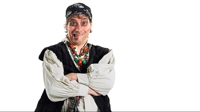 Kindershow Piraat Zeebeen: GEEN PANIEK!