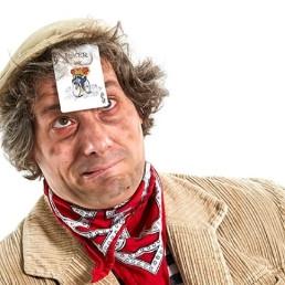 Magician Veldhoven  (NL) Goochelende Zwerver Harry