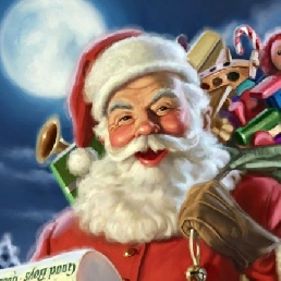 Character/Mascott Sittard  (NL) De Kerstman bij u thuis