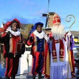 Character/Mascott Veenendaal  (NL) Sinterklaas Visit