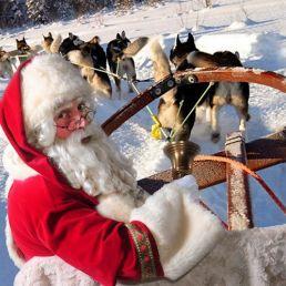 Een echte mooiste Kerstman huren  (solo)