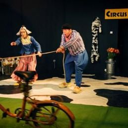 Circus Klomp: Fiets Rodeo