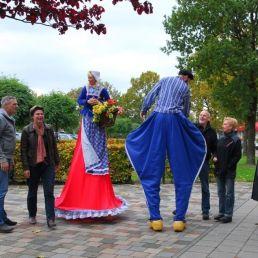 Circus Klomp: Stelten-Animatie