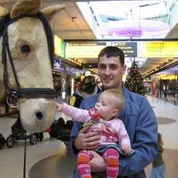 Pete With Horse