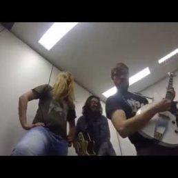 Hippie Caught Dancing