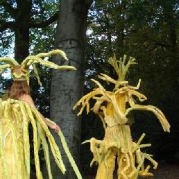 Animatie Winterswijk  (NL) Lopende Bomen