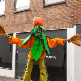 Halloween: Pompoen op Stelten