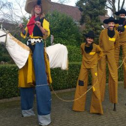Animatie Winterswijk  (NL) Lucky Luke op Stelten!