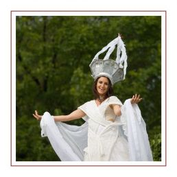 Bruidspaar op Stelten!