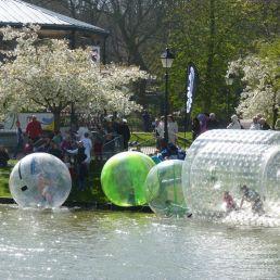 2 Aquabubbles met 2 kleine AquaRollers