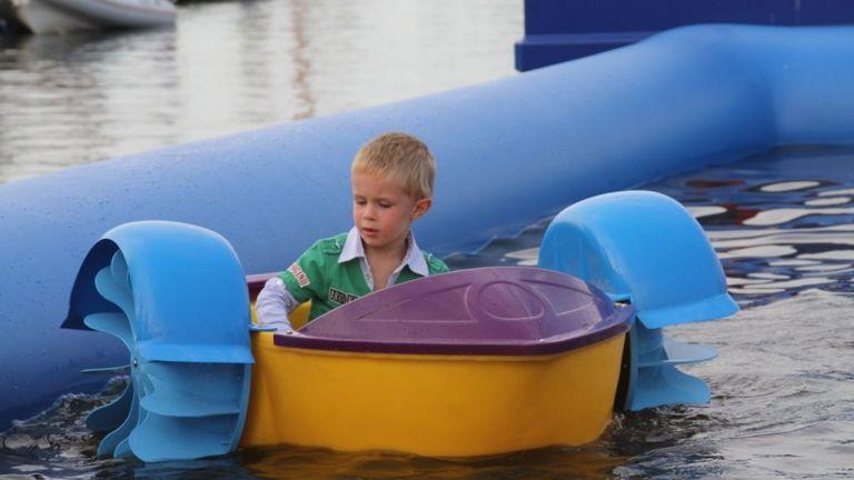 2 AquaBubbles & 4 Aquabootjes