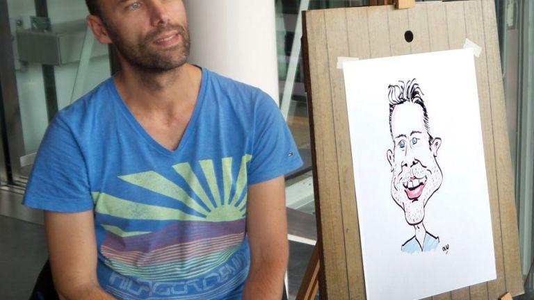 Artist Pijnacker  (NL) Caricaturist / Speed artist Gerard