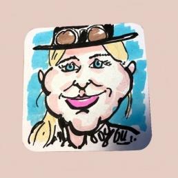 Caricaturist / Speed artist Gerard