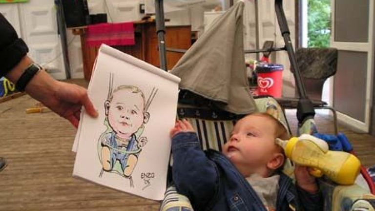 Karikaturist, sneltekenaar