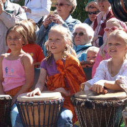 Trainer/Workshop Delft  (NL) Workshop Afrikaanse Percussie kinderen
