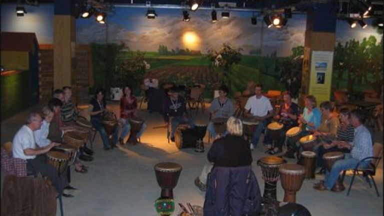 Workshop Trommelen Afrikaanse percussie