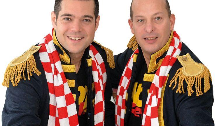 Duo Knotsgek Carnaval/Feest optreden