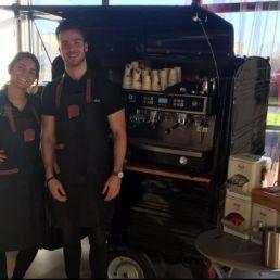 Hire espresso bar and barista on location
