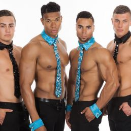 Danser Voorburg  (NL) Ladiesnight modellen en dansers
