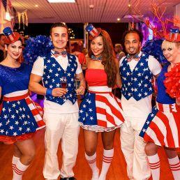 Dansgroep Voorburg  (NL) Cheerleaders in Amerikaanse stijl