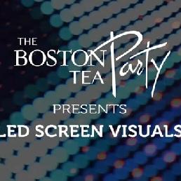 feestband Boston Tea Party huwelijk