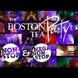 Feestband Boston Tea Party prive