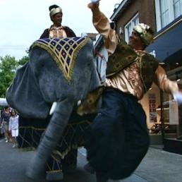 Actor Didam  (NL) Jumbo the Elephant