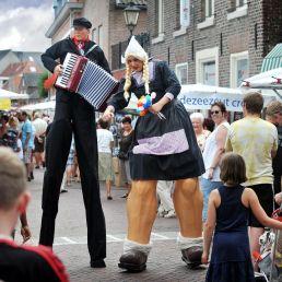 Actor Didam  (NL) Promotion Stiltwalkers