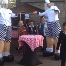 Actor Didam  (NL) High level waiters