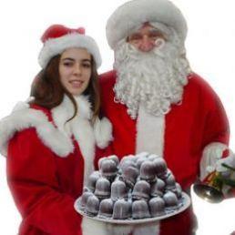 Character/Mascott Heinenoord  (NL) Santa Claus & The Christmas Woman