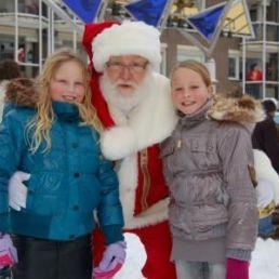 Character/Mascott Heinenoord  (NL) Kerstman met Kerstkransjes