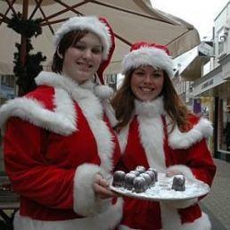 Animatie Heinenoord  (NL) Zoen van de Kerstvrouwtjes