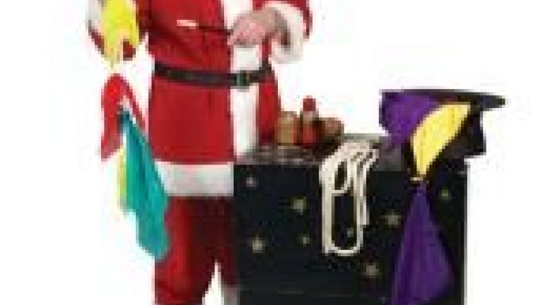 Goochelaar Richard Top - Kerst
