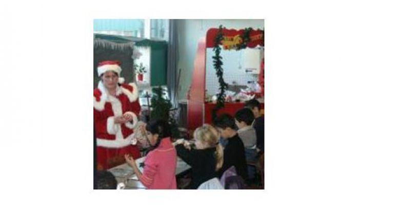 Kerstsok Knutsel Feest