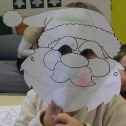 Kids show Heinenoord  (NL) Santa Mask Terrace