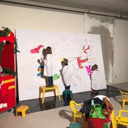 Kids show Heinenoord  (NL) Kunst 4 Kids - Kerst Tekening