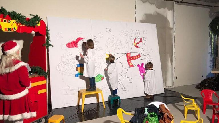 Kunst 4 Kids - Kerst Tekening