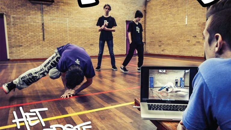Breakdancing Falko