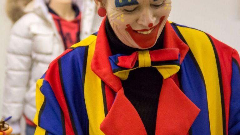 clown flapje