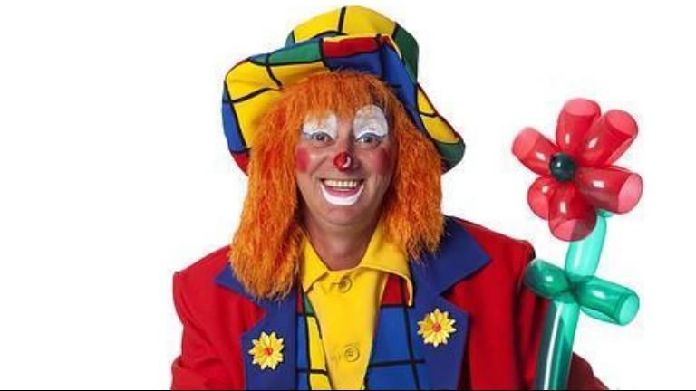 Clown Den Helder  (NL) Clown Dombo