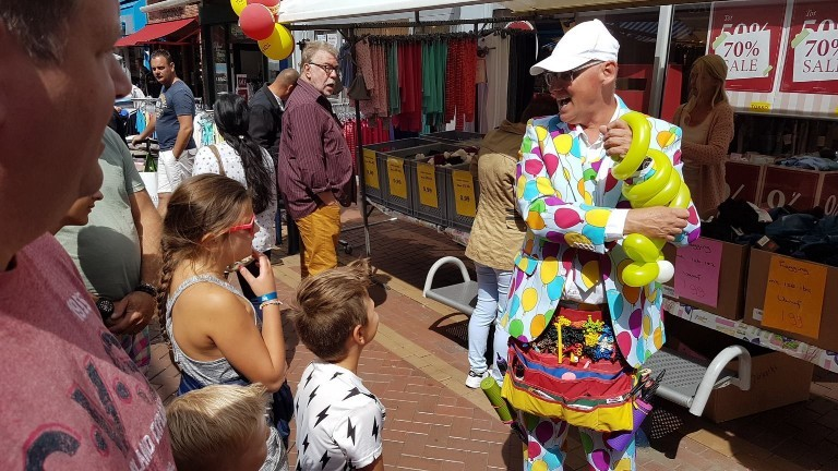 Ballon artiest Den Helder  (NL) Ballonnen Artiest