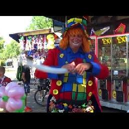 Clown Dombo op anderhalve meter!