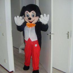 Karakter/Verkleed Den Helder  (NL) Mickey & Minnie op anderhalve meter
