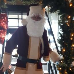 Character/Mascott Den Helder  (NL) Santa Claus